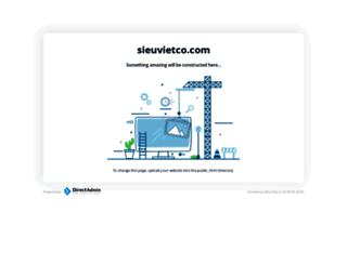 sieuvietco.com screenshot