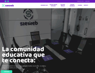 sieweb.edu.pe screenshot