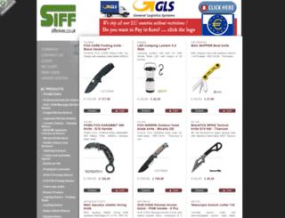 siffknives.co.uk screenshot