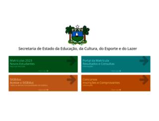 sigeduc.rn.gov.br screenshot