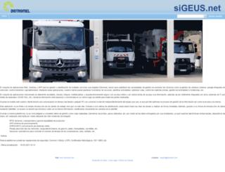 sigeus.net screenshot