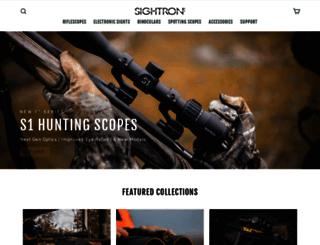sightron.com screenshot