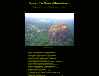sigiriya.org screenshot