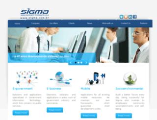 sigma.com.br screenshot