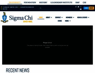 sigmachi.com screenshot