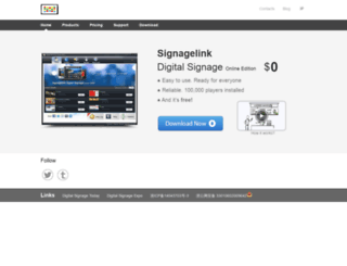 signagelink.com screenshot