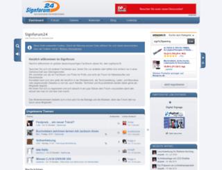 signforum24.de screenshot