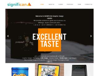 significan-design.com screenshot