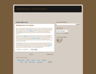 significantofeducation.blogspot.com screenshot
