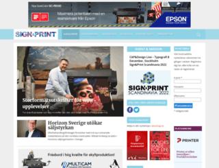 signprint.se screenshot