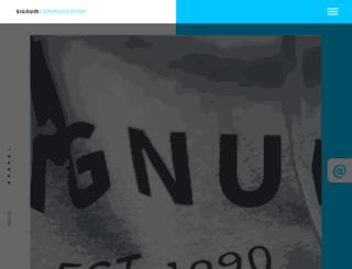 signum-web.de screenshot