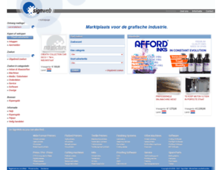 signweb.nl screenshot