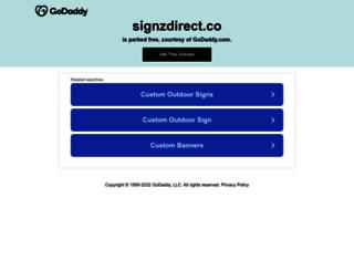 signzdirect.com screenshot