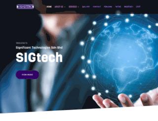 sigtech.com.my screenshot