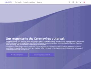sigvaris.ca screenshot