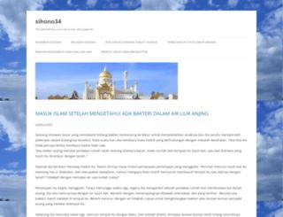sihono34.wordpress.com screenshot