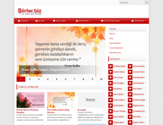 siirler.biz screenshot