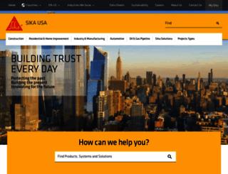 sikacorp.com screenshot