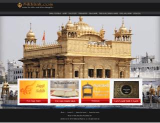 sikhlink.com screenshot