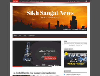 sikhsangat.org screenshot