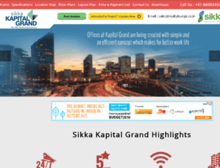 sikkakapitalgrand.com screenshot