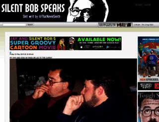 silentbobspeaks.com screenshot
