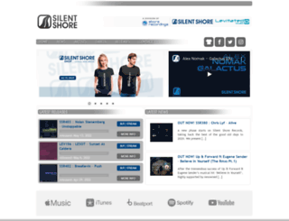 silentshorerecords.com screenshot