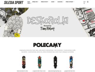 silesiasport.pl screenshot
