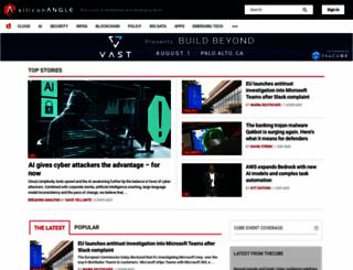 siliconangle.com screenshot