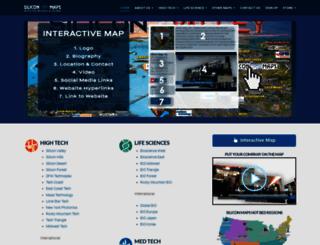 siliconmaps.com screenshot