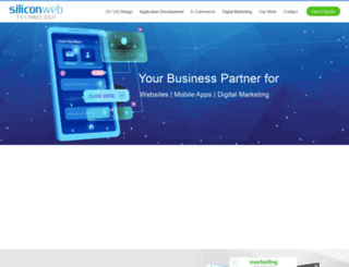 siliconwebtech.com screenshot