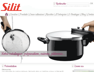 silit.fr screenshot