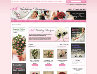 silkweddingdesigns.com screenshot