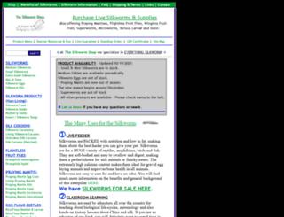 silkwormshop.com screenshot