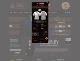 silky.ae screenshot
