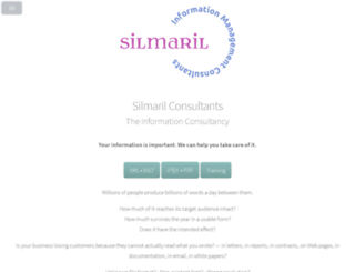 silmaril.ie screenshot