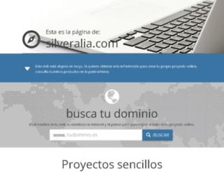 silveralia.com screenshot