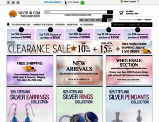 silverandgem.com screenshot