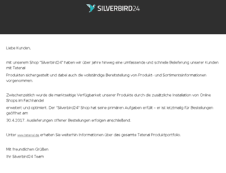 silverbird24.com screenshot