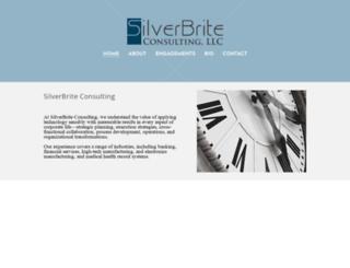 silverbriteconsulting.com screenshot