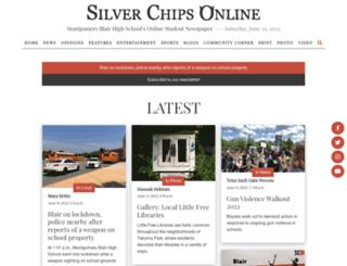 silverchips.mbhs.edu screenshot