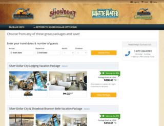 silverdollarcity.reservedirect.com screenshot