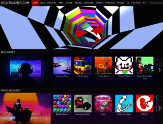 silvergames.com screenshot