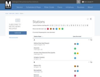 silverlinemetro.com screenshot