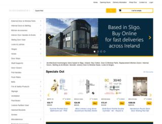 silvershardware.com screenshot
