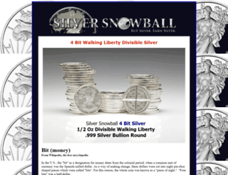 silversnowball.com screenshot