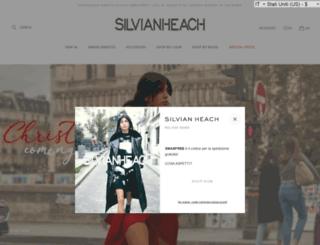 silvianheach.com screenshot
