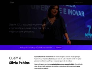 silviapahins.com screenshot