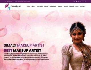 simadimakeupguru.com screenshot