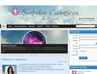 simboloscuanticosargentina.com screenshot